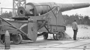 The Dragör Fort, 35,5 cm. cannon