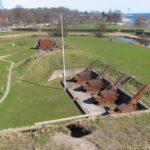 29 cm. haubits at the Charlottenlund fort, Copenhagen fortifications