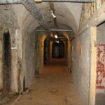 The Mosede battery, The corridor in the fort, Copenhagen fortifications
