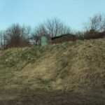 The dry moat of the Buddinge Battery, Copenhagen Fortifications