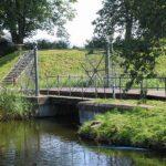 The bridge to the Charlottenlund fort, Copenhagen fortifications