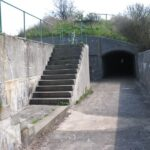 The battery at the Flak sea fort, Copenhagen Fortifications