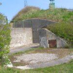 Emplacement for 75 mm. gun at the Flak Fort, Copenhagen