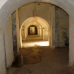 The central corridor in the Garderhöj Fort