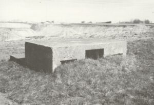 Bunker for two machineguns at the Tune Stronghold, Copenhagen