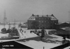 The Lynetten Battery 1956, the Copenhagen fortifications