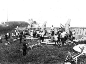 29 cm. howitzers at the Lynetten Battery, Copenhagen