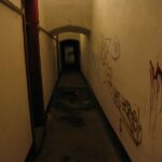 The Lyngby Fort Accommodations corridor, Copenhagen fortifications