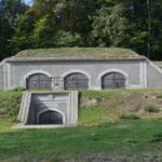 The western batteries at the western front of the Copenhagen Fortifications