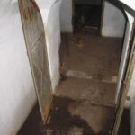 The stairs to the magazine under the permanent battery at the Copenhagen fortifications