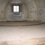Proevestenen sea fort, Gun emplacement in casemate