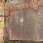 Copenhagen fortifications, bullitt marks in the shutters at the Fortun Fort