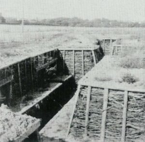 Trench at the Tune stronghold, Copenhagen fortifications