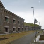 The tthroat at the Middeelgrunds Fort, Copenhagen Fortifications