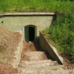 The entrance to the Western Ordrup Krat Battery