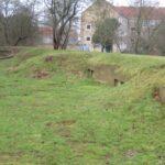 Gun emplacements at the Vangede Battery, Copenhagen Fortifications