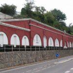 The Christiansholm Battery, the throat