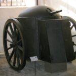 Gruson Fahrpanzer in Denmark, Copenhagen Fortifications