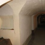 The artillery floor at the Gladsaxe Fort