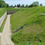 The moat at The Garderhöj Fort, Copenhagen fortifications