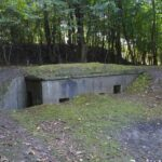 Caponiere for machineguns at the western front og the Copenhagen Fortifications