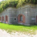 The throat of the Gladsaxe Fort, Copenhagen fortifications