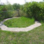 The Kastrup Fort, gun emplacement