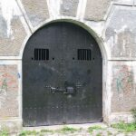 The gate to the Lyngby Fort, Copenhagen Fortifications