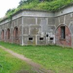 The throat at the Lyngby Fort, Copenhagen Fortifications