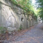The throat of the Tinghöj Battery, Copenhagen Fortifications