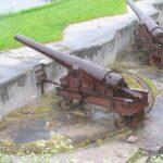 The Trekroner Fort Copenhagen, 15 cm. cannon