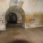 The Trekroner Fort, Artillery casemates corridor