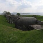 The Masnedö Fort, the battery